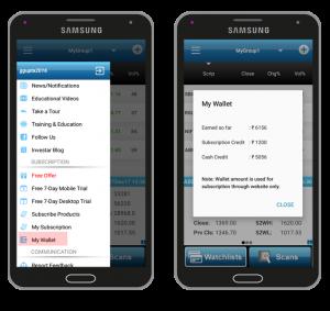 MyWallet in Mobile Beta