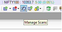 Manage Custom Scans