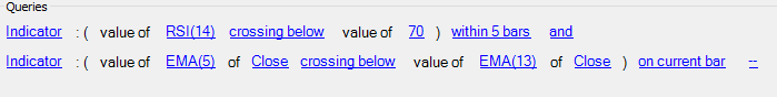 Custom Screeners example